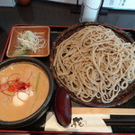 50925048 - 濃厚 豚汁つけ汁蕎麦(920円)