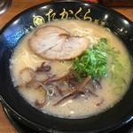 博多豚骨 たかくら - 三番釜・黒丼(750円)