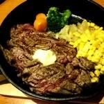 バラード - ステーキ御飯