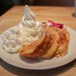 ihana cafe - プレーンフレンチトースト☆