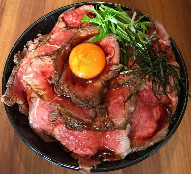 キャメルダイナー , 絶品 ローストビーフ丼(ダブル)