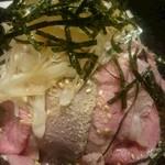 50927775 - 肉は少し脂身が多いかなと思いましたが、かなり上質なお肉だと思います。