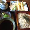 あめん棒 - 料理写真:天ぷら ざるぞば  1200円