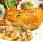 50929628 - 日替りランチ 1000円 の鶏もも肉のコンフィ