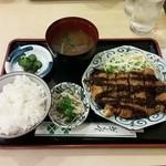 佐賀昇 - とんかつ定食♪