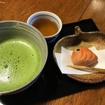 50932671 - 季節の生菓子とお抹茶 650円