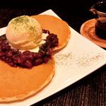 織部 - 北海道あずきのパンケーキ