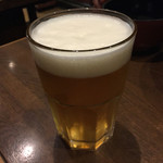 香醤 - 生ビール(中)550円