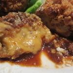 ガーブ ドレッシング - ポルチーニ茸のクリームコロッケランチ とろーり
