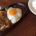 CAFE MOJAVE - 目玉焼きハンバーグ