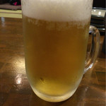 焼鶏や 鳥太 - ドリンク写真:生ビール