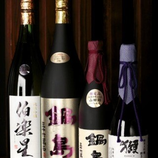その時期に合う日本酒も取り揃えています!