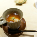 くろ﨑 - 毛ガニの茶碗蒸し
