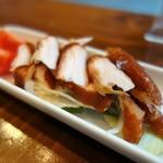 純米酒専門YATA  - 鶏ささみのスモーク