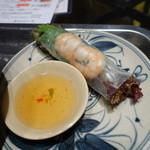 ベトナム料理 インドシナ - 生春巻き