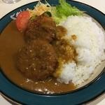 デリー - カニコロッケカレー(税込800円)