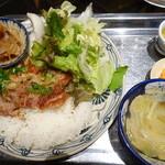 ベトナム料理 インドシナ - さらめしセット