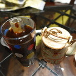 ベトナム料理 インドシナ - アイスコーヒーとハス茶