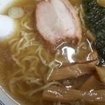 中華そば つけ麺 甲斐 - 塩ラーメン 2016.5