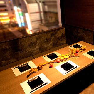 【新宿×和モダン×個室】女子会や合コン・デートなどに大人気!