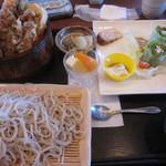 さかい - 海老天丼セット