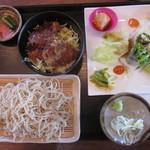 さかい - ソースヒレカツ丼セット