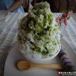 ケンゾーサン - かき氷 抹茶