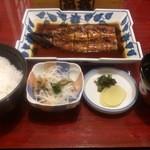 富松うなぎ屋 - ・うなぎ定食 2200円