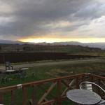 ひつじの丘 - 天気がイマイチだけど、良い眺めです。