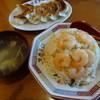 Mirakusaikan - 料理写真:海老炒飯と餃子
