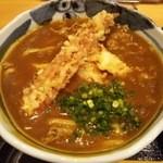 50954540 - カレーランチ 竹鶏天カレーうどん