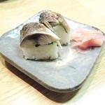 梅田産直市場 - さば寿司?