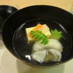 二條ふじ田 - 白身魚すり身巾着と玉子豆腐