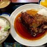 三洋食堂 - カマトロ定食