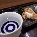 やまけい - 八海山[390円]と煮穴子[390円]