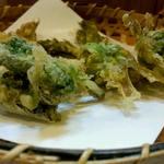 旬彩小料理 満まる - 春の山菜の天ぷら。