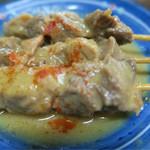 お好み焼き 文福 - 料理写真:土手焼きは1本80円