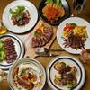シェフの作る本格料理の数々