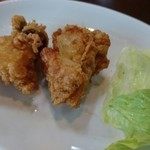 50964059 - 揚げ物は鶏の唐揚げかゲソの唐揚げから選べる♪(201606)