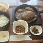 ブラウニー - 和風ハンバーグ定食750円