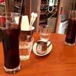バニュルス - アイスコーヒーでちょっと一息!