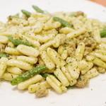 (La Fabbrica Della Pasta) Quel - ブロッコリーとサルシッチャのカヴァテッリ(?)