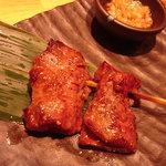串焼肉と煮込みのお店 きんちゃん - ハラミ串焼