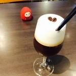 Cafe de 武 - アイスカプチーノ