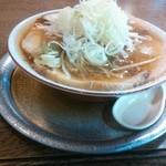 50970407 - お盆にスープがこぼれてますよ(^o^)