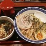 麺家くさび - 魚節豚骨つけ麺 864円