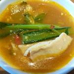 サイアムセラドン - スープ野菜カレーはイマイチ