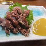 岩金 - ホタルイカ刺身
