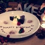 Cafe de 武 - サプライズケーキ