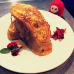 Cafe de 武 - マンスリーメニュー フレンチトースト